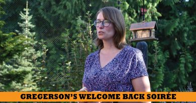 Gregerson kicks off her Welcome Back campaign