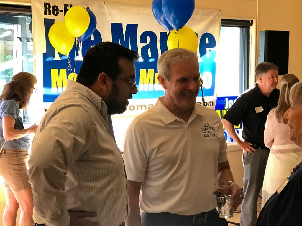 Joe Marine campaign kickoff