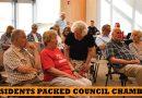 Full council chamber as HAP draft language passes 5-1