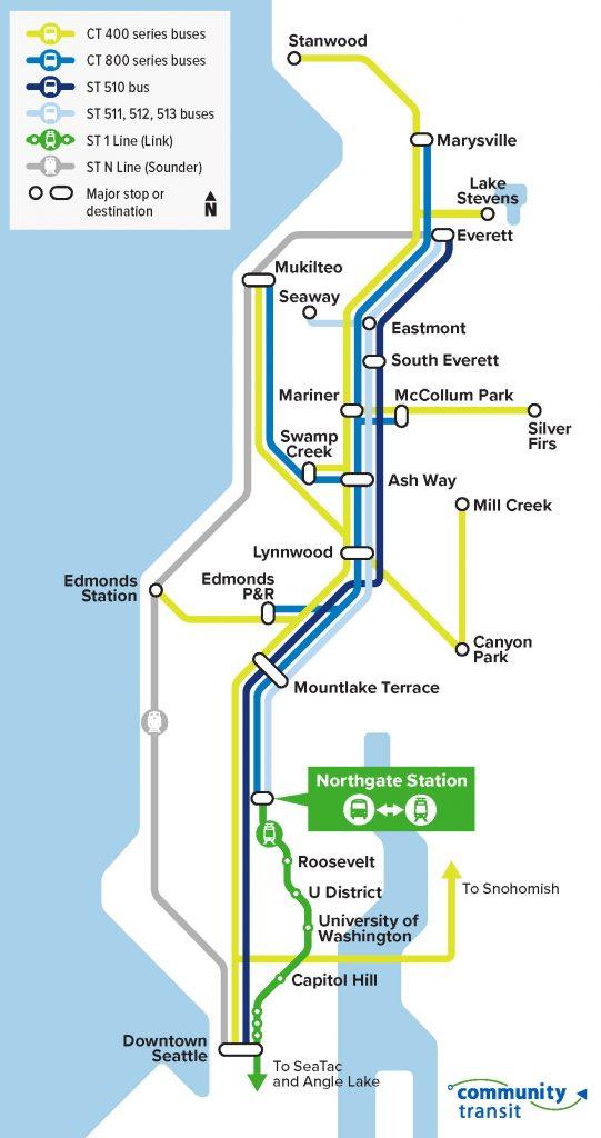 Northgate transit