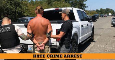 hate crime arrest