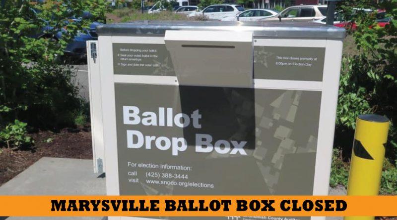 marysville ballot drop box