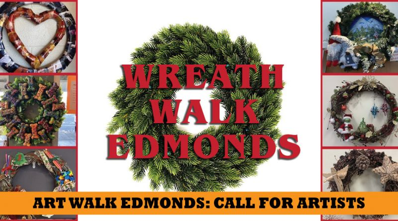 art walk edmonds wreath