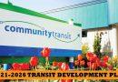 Community Transit board approves Transit Development Plan