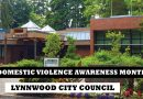 Lynnwood Council recognizes Domestic Violence Awareness Month