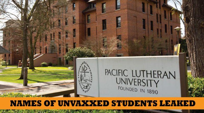 unvaccinated students PLU