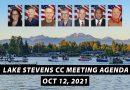 Upcoming Lake Stevens City Council meeting