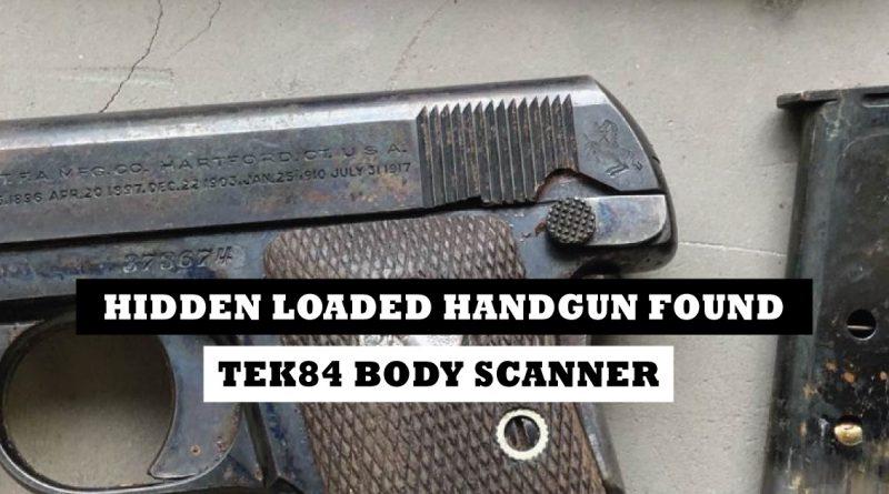 Hidden handgun found on woman during jail booking process