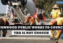 Revenue from TBD not enough according to Public Works department